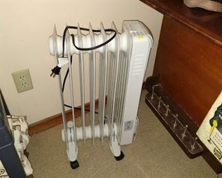 1st Bed Room Left:  Heater