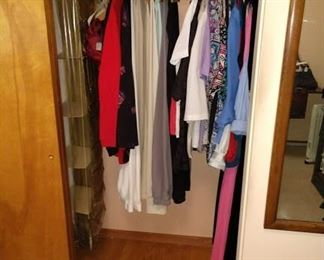 1st Bed Room Left:   Women's Clothes