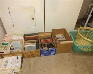 Wash Room Right:  Books