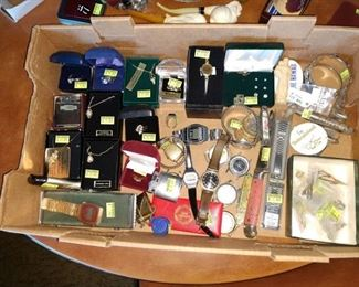 Living Room:   Watches,