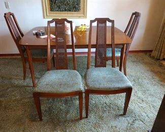 Dining Room:  Dining Table w/4Chairs,