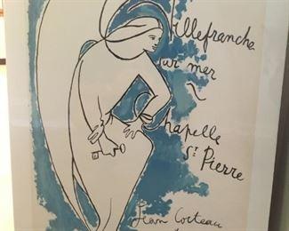 VILLE-FRANCHE-SUR-MER by Jean Cocteau
