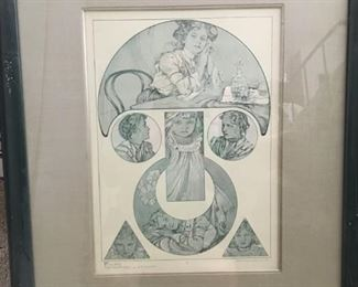 FIGURES DECORATIVES Plate 37 by Alphonse Mucha
