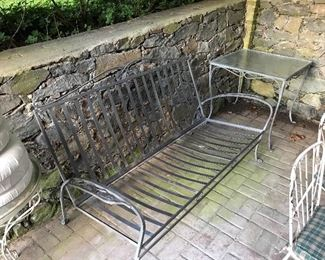 wrought iron furniture set