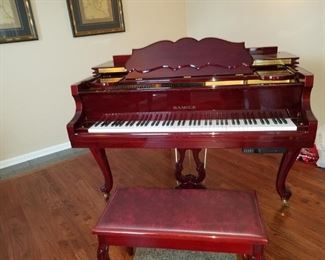 Baby Grand Player Piano, Samick plays great priced to sell quick at $3500 available for presale