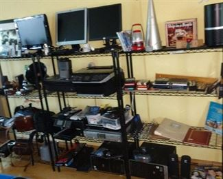 You could start an whole company with the equipment here. Plus look at the racks.