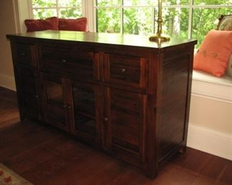 Entertainment cabinet / credenza