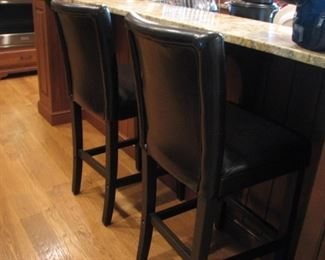 leather pub chairs