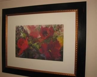 Original watercolor, matted and framed by local Barrington artist