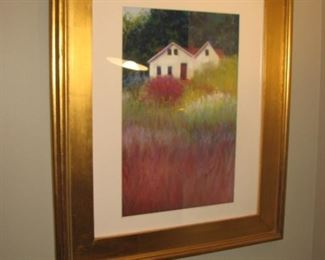 Original oil on canvas matted and framed by local Barrington artist