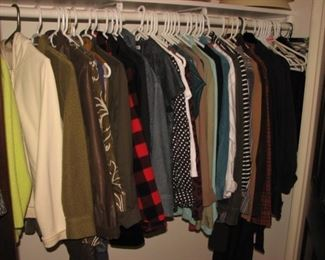 Name brand jackets, coats and more
