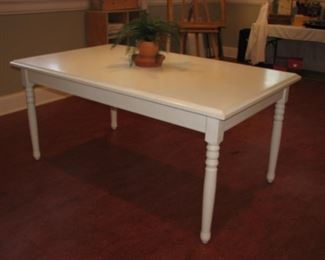 White crafting table