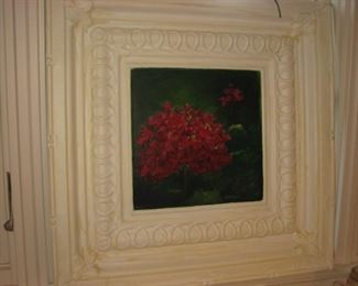 oil on panel by local Barrington artist