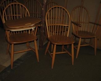 6 spindle chairs