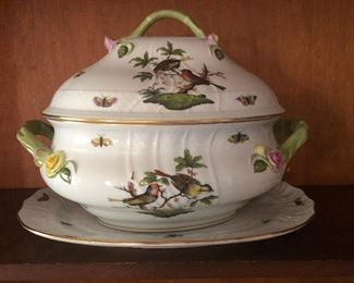 Herend Rothschild Bird Tureen