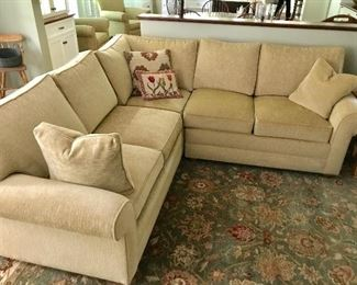 Ethan Allen sectional sofa