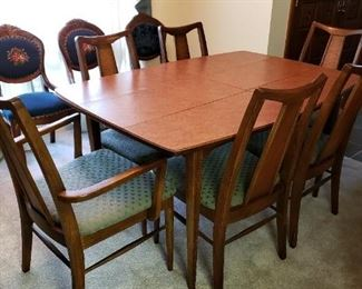 Mid century modern dining room set