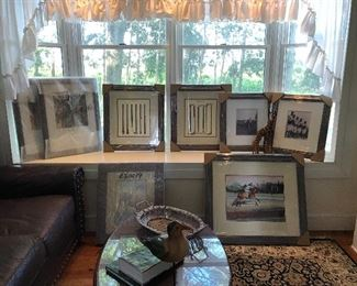 Fabulous assortment of Equestrian, Riding, and Polo Themed art