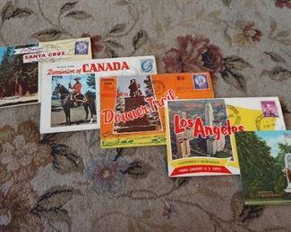 VINTAGE BOOKLET POST CARDS