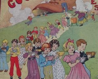VINTAGE 20S 30S  CHILD MOTHER GOOSE NURSERY BOOK
