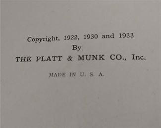 CLOSE-UP...MOTHER GOOSE BOOK  1933