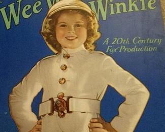 SHIRLEY TEMPLE  WEE WILLIE WINKIE BOOK
