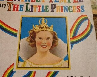 SHIRLEY TEMPLE ...THE LITTLE PRINCESS BOOK