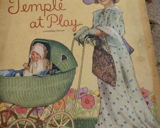 VINTAGE SHIRLEY TEMPLE...AT PLAY BOOK