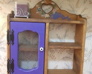 12 Shelf with purple door