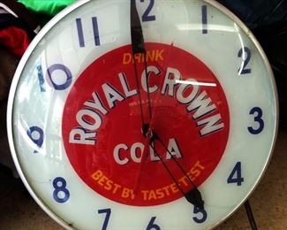 Vintage Advertising Clock- Royal Crown Cola