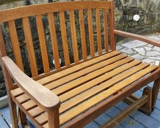 Outdoor bench (cushions also available)
