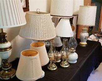 Lamps, lamps, lamps!
