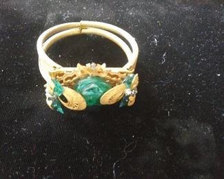 Mariam Haskell bracelet signed