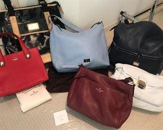 Beautiful new desigener handbags,  Kate Spade, Trina Turk etc!