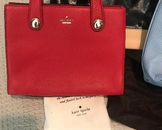 Adorable red Kate Spade!