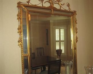 NICE ORNATE GOLD MIRROR