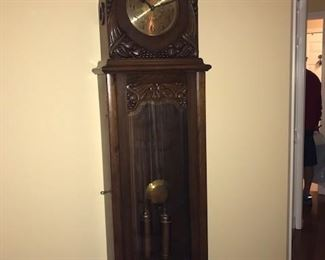 Mauthe Grandfather Clock