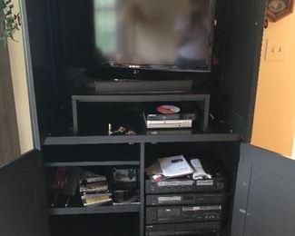 TV Cabinet, Electronics