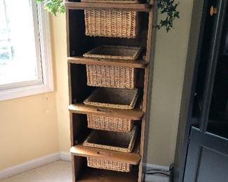 Open Basket Shelf