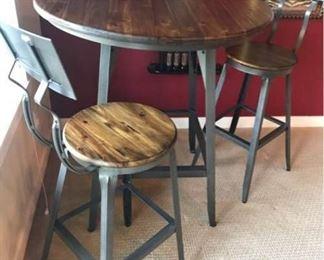 008 Hudson Pub Table  Stools by World Market