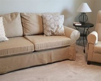 Sleeper Sofa and Recliner Chair