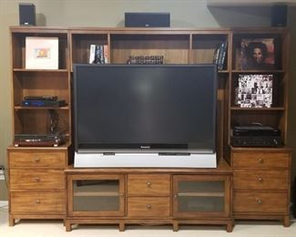TV and Entertainment Center