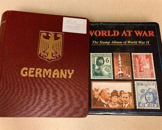 GERMANY - THE STAMP ALBUM OF WORLD WAR 2