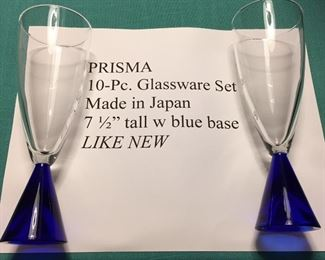 Glassware - This Estate Sale includes nearly 70 crystal pieces.