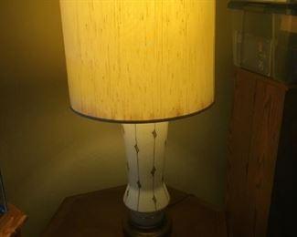I love this retro lamp.