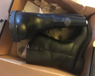 These are brand new, in-the-box, Harley boots!