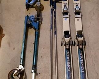. . . a set of Rosignal skis.