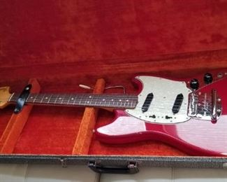 This is a beautiful 1965 Fender guitar -- grab it quickly!