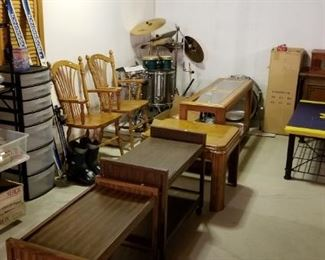 Toy, housewares, tables, chairs...
