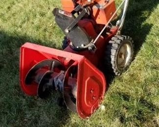 . . . followed by a dependable Toro snow thrower.
